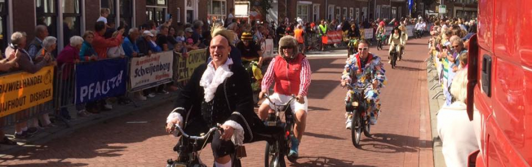 Geweldige 19e editie van de Solexrace in Biggekerke
